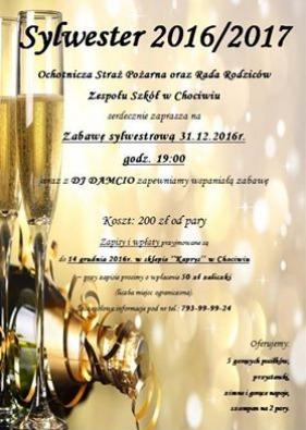 Zaproszenie Na Bal Sylwestrowy Do Chociwia łaskonlinepl