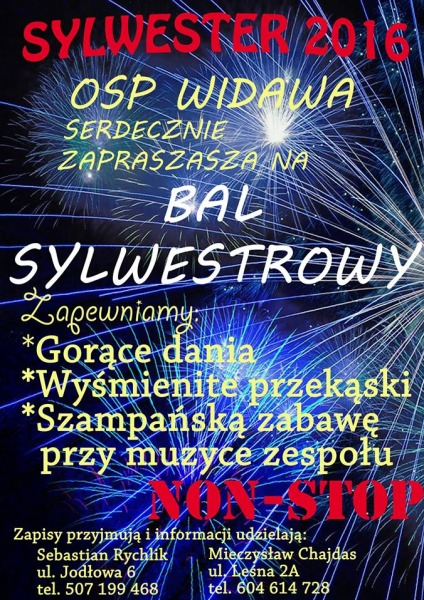 Zaproszenie Na Bal Sylwestrowy Do Widawy łaskonlinepl